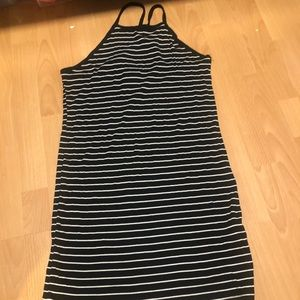 Forever 21 plus bodycon striped dress (2X)